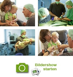 Zur Bildershow einer ambulanten Operation